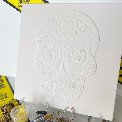 Sugar Skull XLarge Tile