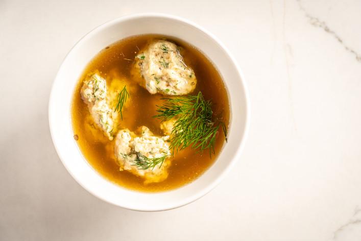 Ima's Matzoh Ball Soup