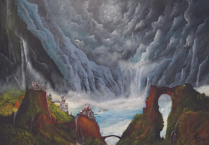 Nightfall in Rivendell
