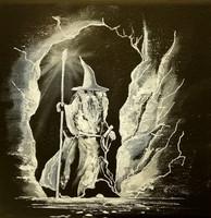 Gadalf in Dol Guldur