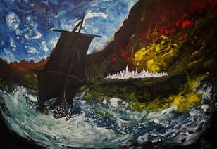 The Fall of Numenor