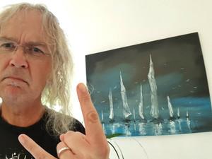 Chris Boltendahl, singer of Grave Digger