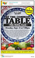 At the Common Table (September 14, 2020)