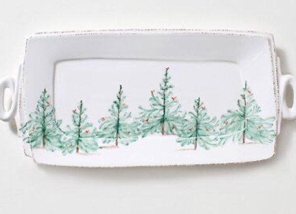 Handbuilt Ceramic Serving Platter-Thurs. 12/3 6-8pm