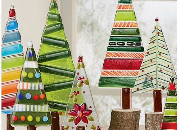 Fused Glass Christmas Trees-Sat. 11/21 6-8pm