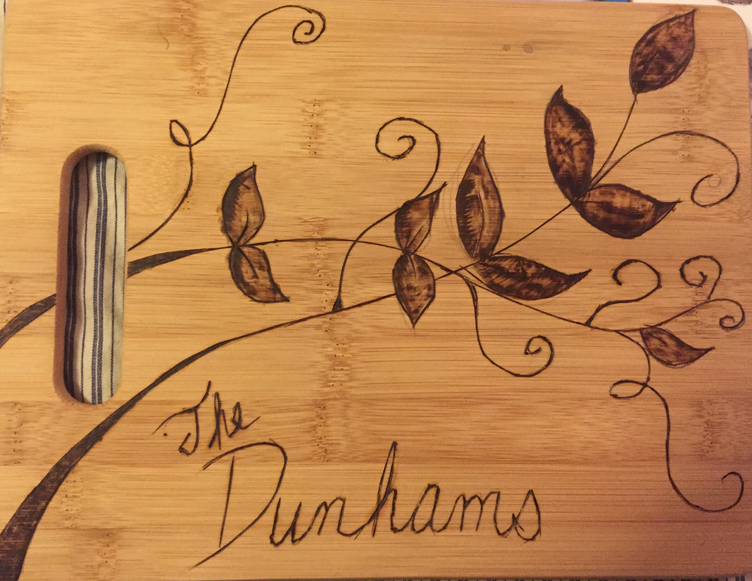 dunham cutting board
