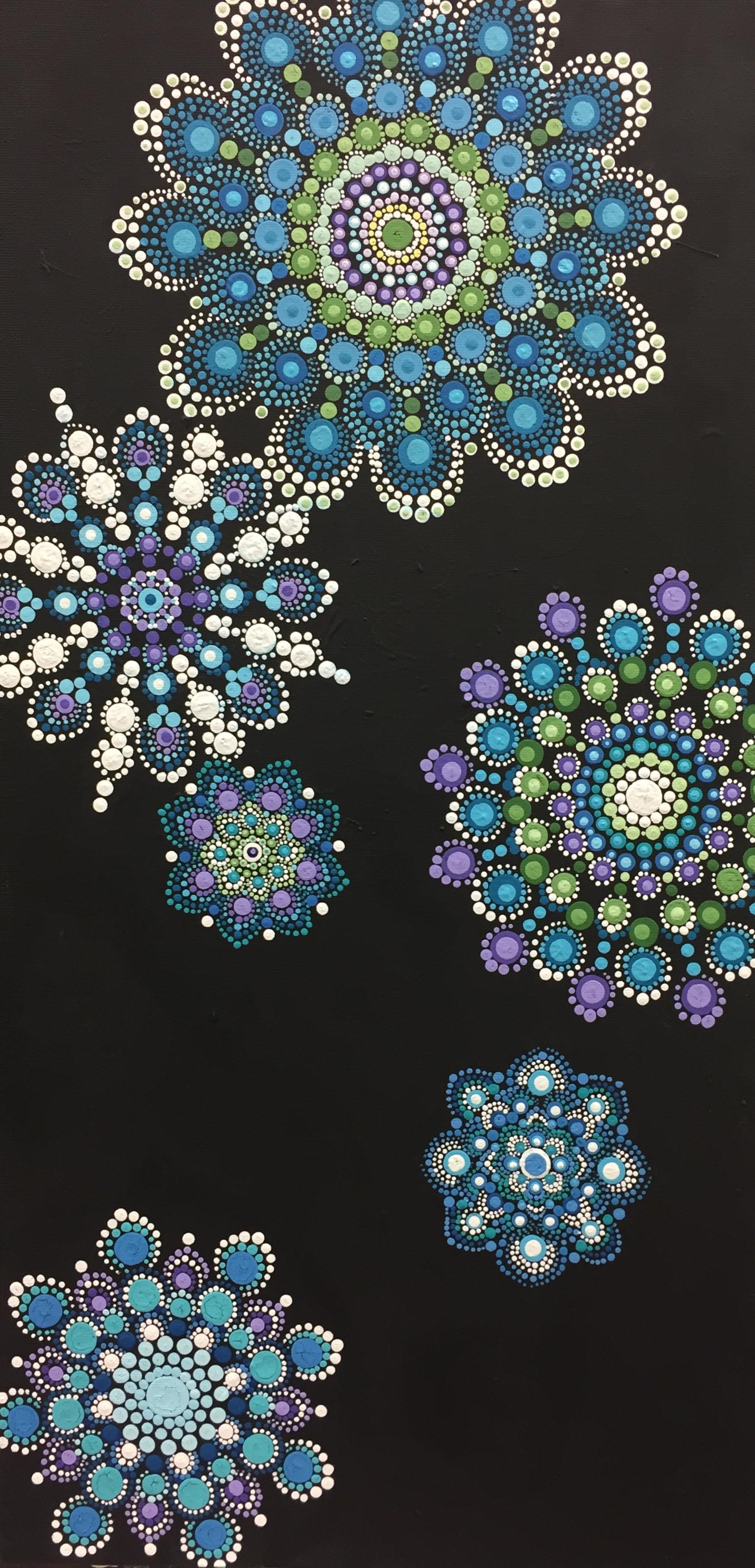 Snowflake Mandala by Jess