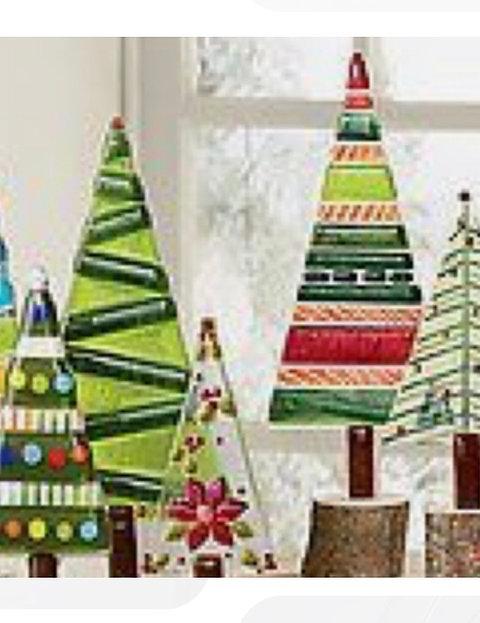 2 Christmas Tree.Fused Glass Christmas Trees Sat 11 2 6 9pm