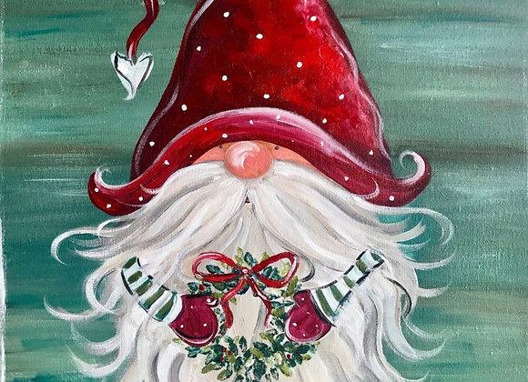Christmas Gnome Paint Night-11/28 3-5pm