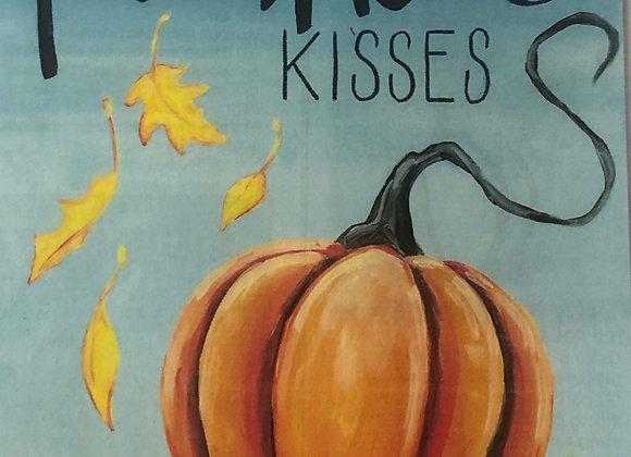 Pumpkin Kisses Paint Kit