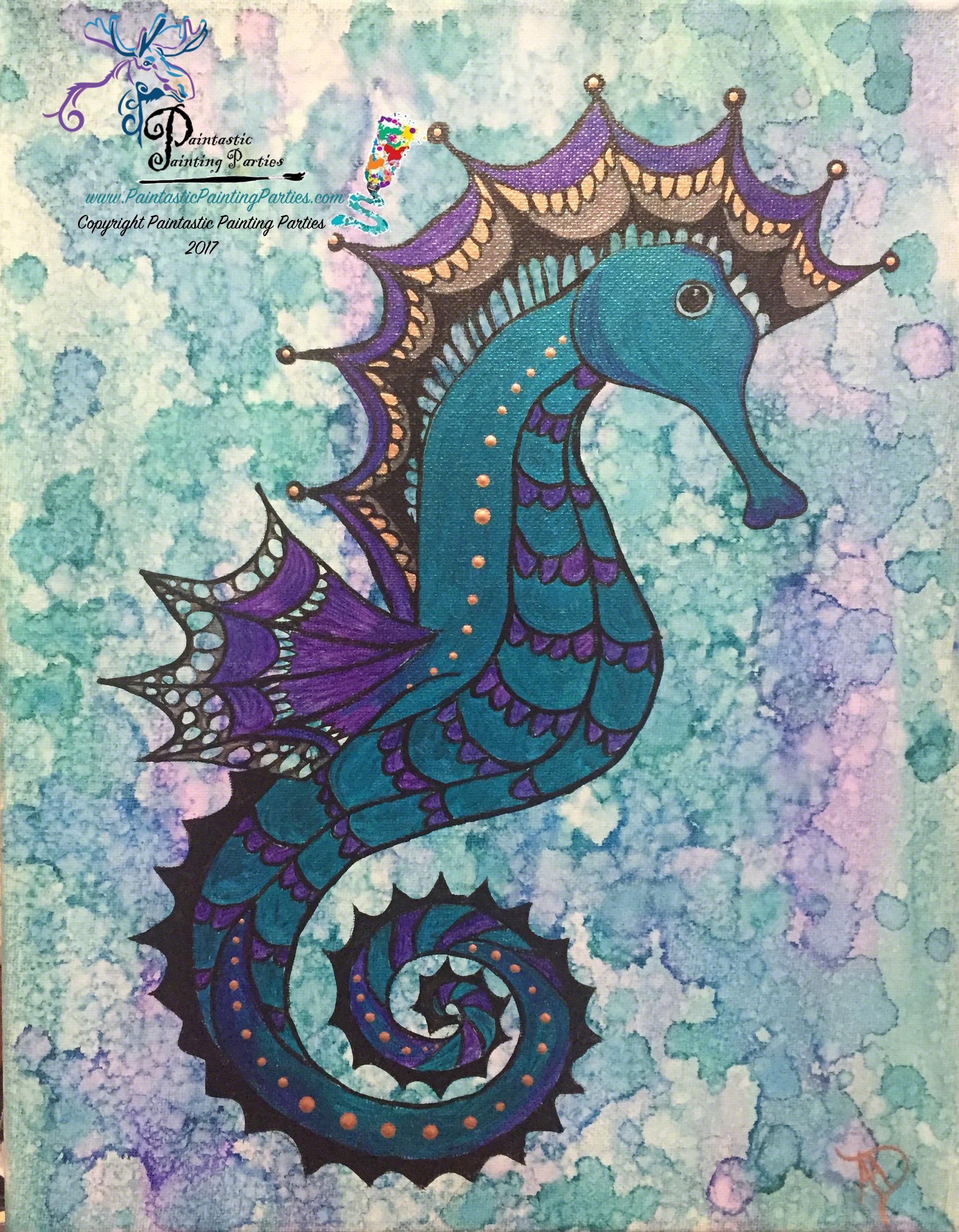 seahorse w watermark