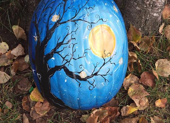 Painted Pumpkin (Foam)-Wed. 10/21 6-8pm