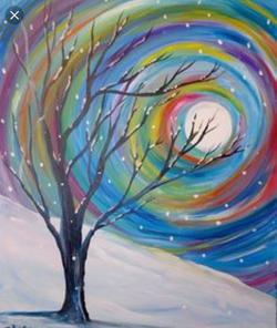 snow_tree_colorful orb