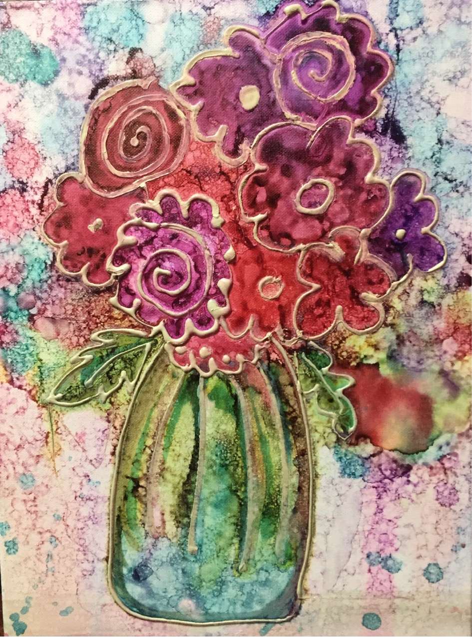 alc ink bouquet