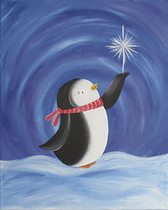 Paint Kit-penguin_wishes