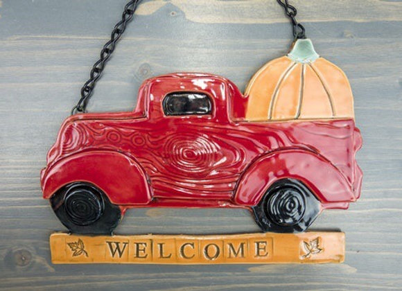 Ceramic Autumn Welcome Sign-Thurs. 10/22 6/8pm