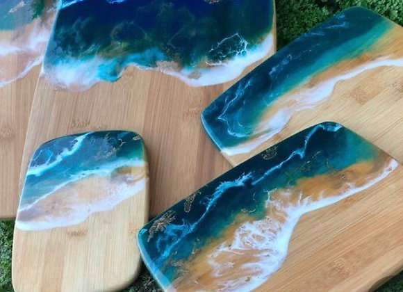 Resin Cutting Boards-Wed. 10/28 6-8pm
