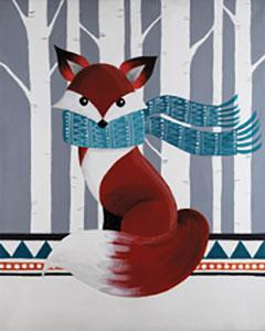 Paint Kit-woodland_fox