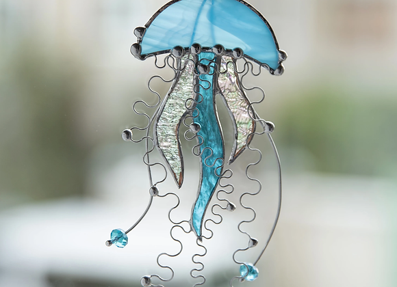 Stained Glass Jellyfish-Sat. 10/24 1-5pm