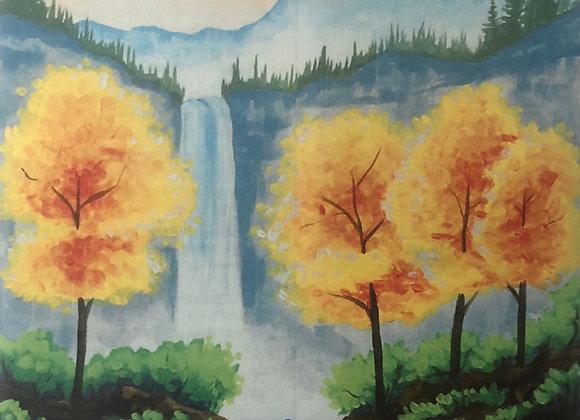 Falling for Autumn Paint Kit