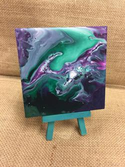 Pour Paint Coasters-Jess
