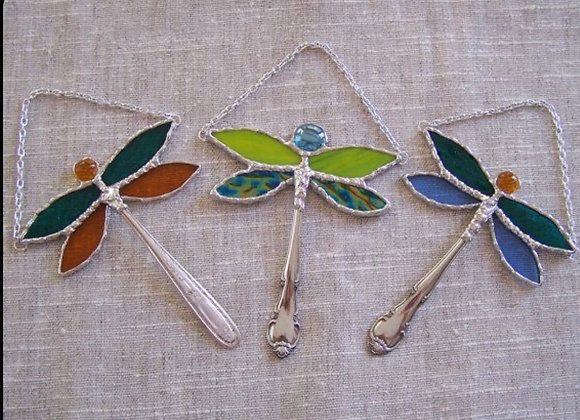Stained Glass Dragonfly-Sat. 11/21 2-5pm