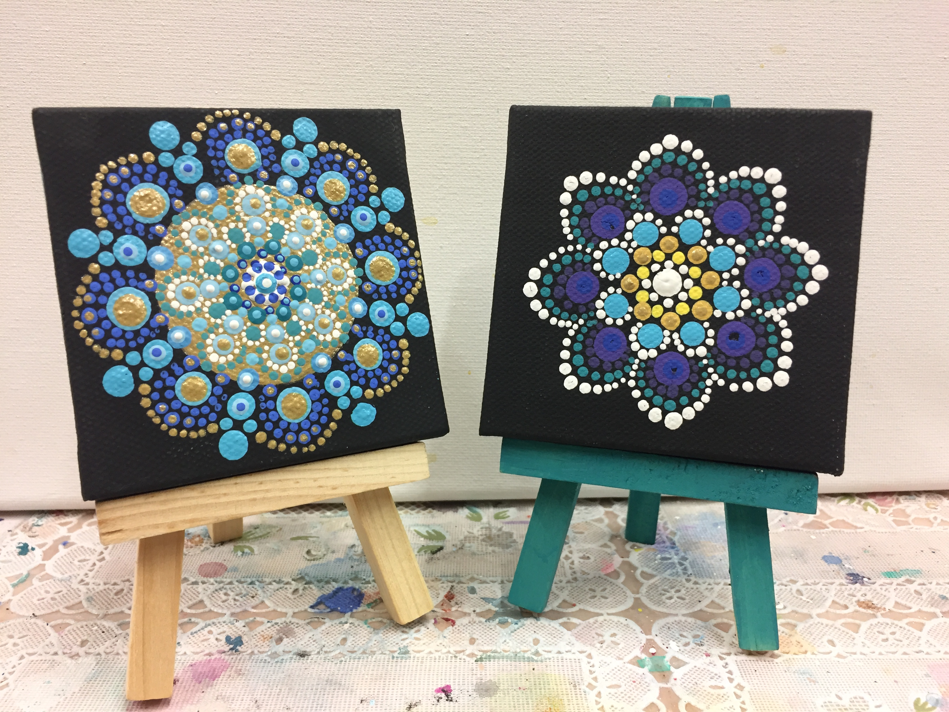 Mini Mandalas by Jess