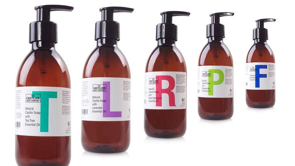 The castillian soap company Natural Soap 250ml