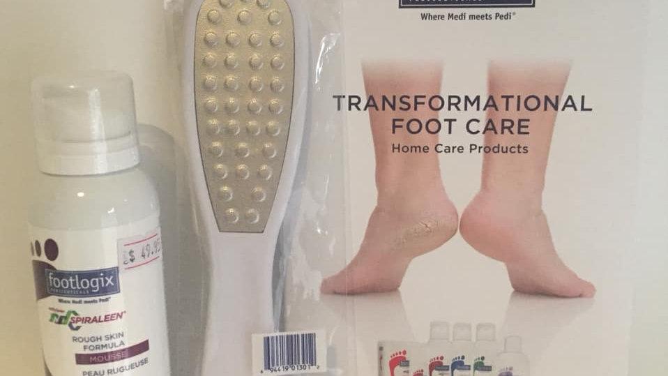 Footlogix Rough Skin Pack