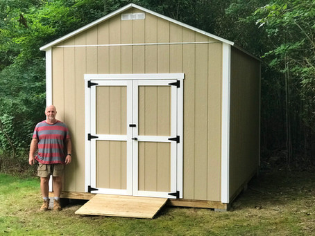 New High Top Shed Option