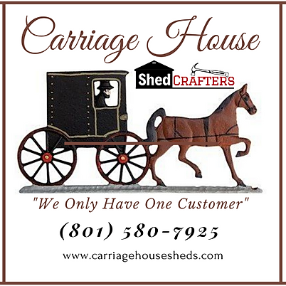 Carriage House Logo with Omish Carriage.