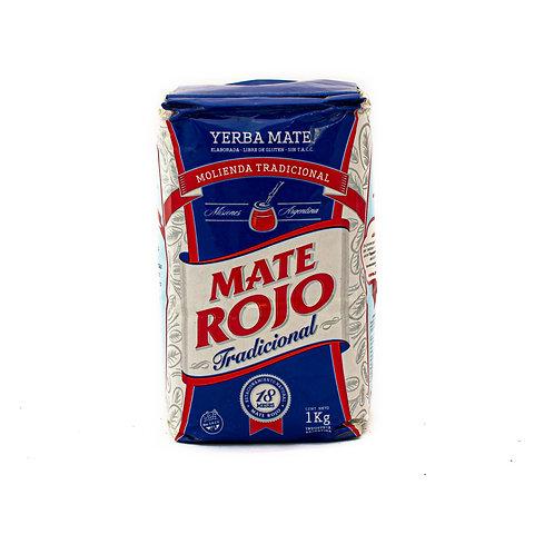 Mate Rojo Tradicional 1kg