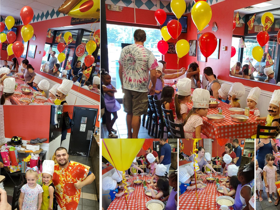Birthday party at Pasquale's pizzeria III