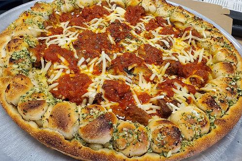 Vegan Chicken Parm Pizza