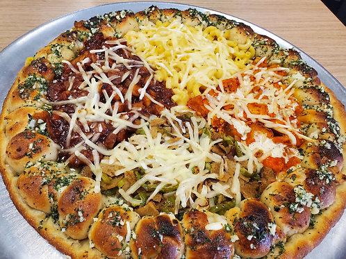 Vegan Sampler Pizza