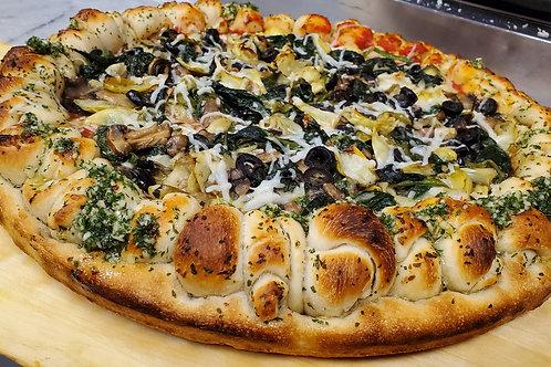 Gluten-Free Vegan Veggie Pizza