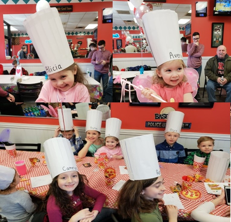 Pizza Brithday Party