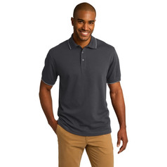 Port Authority Rapid Dry Tipped Polo