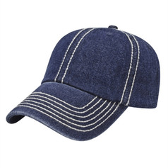 Thick Stitch Accent Cap
