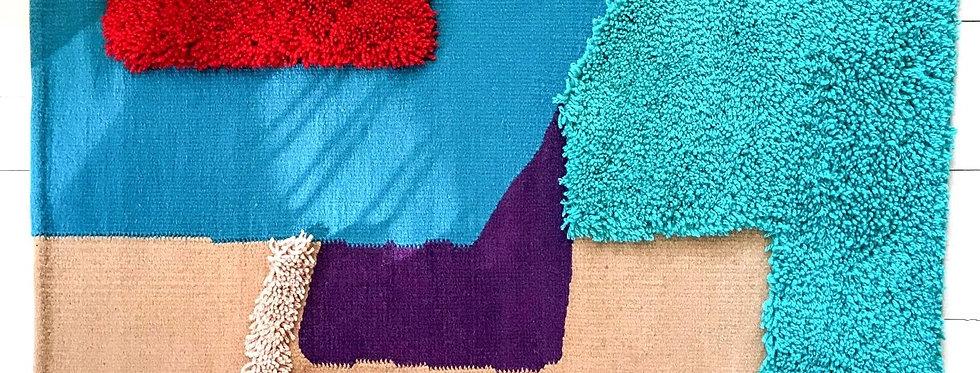 Norte | Alfombra de lana tejida a mano