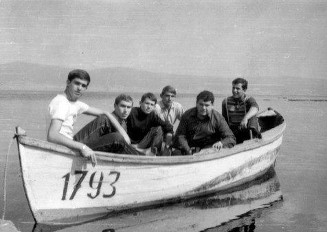 1964 - Black sea - my father and his friends