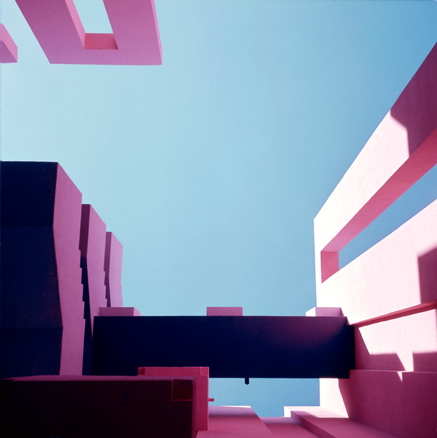 La Muralla Roja Calpe, Spain Architect: Ricardo Bofill,  Year: 1968