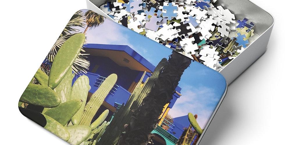 Majorelle Blue Wooden Puzzle