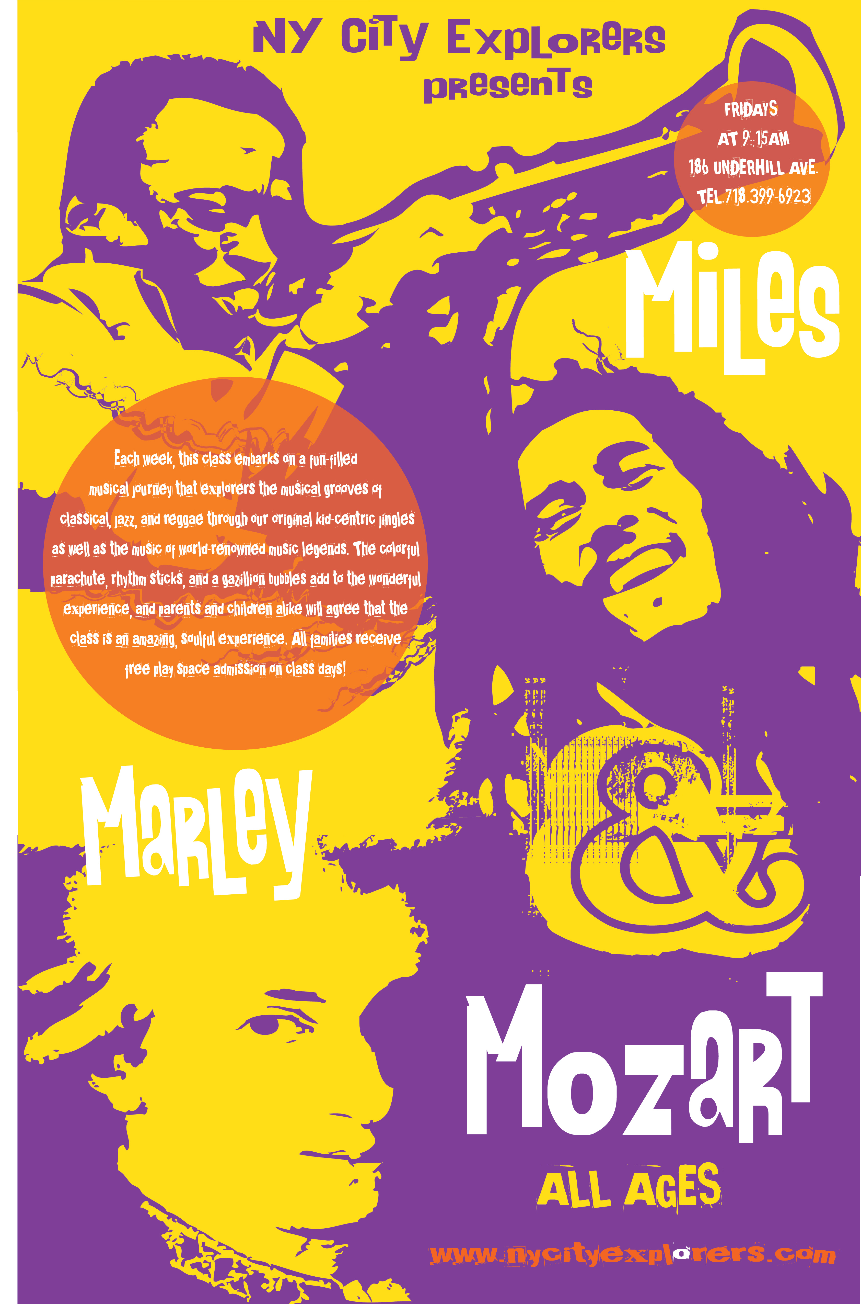 Miles Marley Mozart Poster