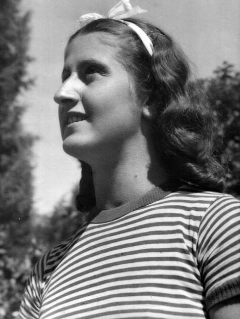 1939 - Ohrid - my grandmother