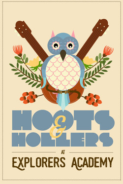 Hoots & Hollers Poster