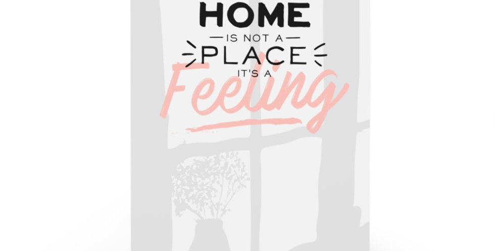 Home Is A Feeling Greeting Cards (7 pcs)