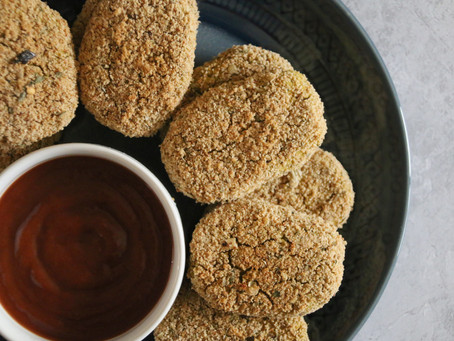 Easy Chickpea Nuggets