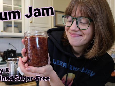 Plum Jam [Easy & Refined Sugar-Free]