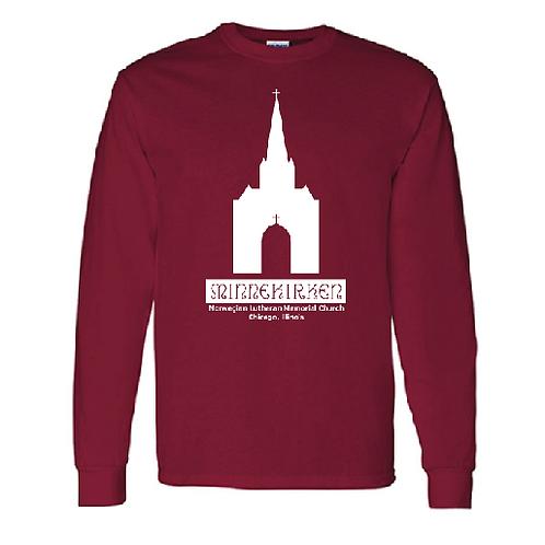 Long-sleeve T-shirt - RED